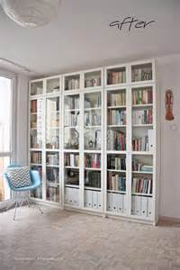Library Style Bookshelves Library Living Room Home Decor Ikea Billy Eames Chair
