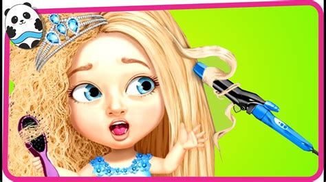 girls hair salon hair style makeover games for kids fun baby care kids game sweet baby girl beauty salon 3