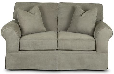 old brick recliners klaussner woodwin upholstered loveseat old brick