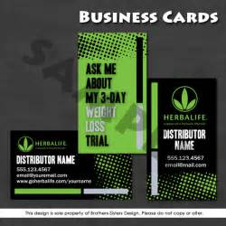 herbalife business cards templates herbalife business card digital by