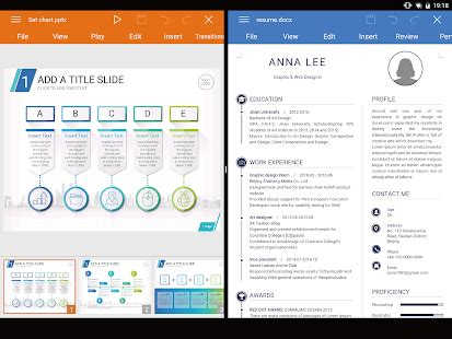 templates for wps office android wps office word docs pdf note slide sheet