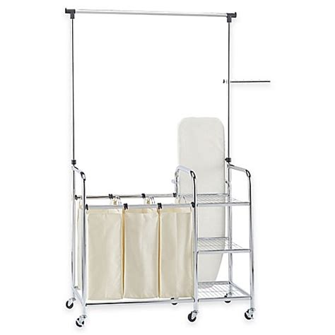 Household Essentials 174 Laundry Station Sorter In Chrome Household Essentials Laundry