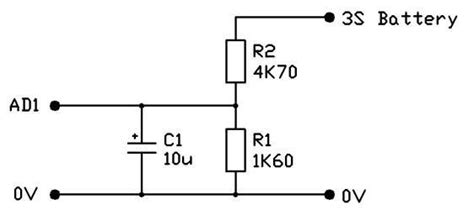 voltage divider for capacitor capacitor in voltage divider physics forums the fusion of science and community