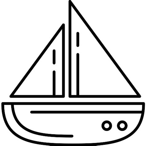 sailboat round up round sailboat free transport icons
