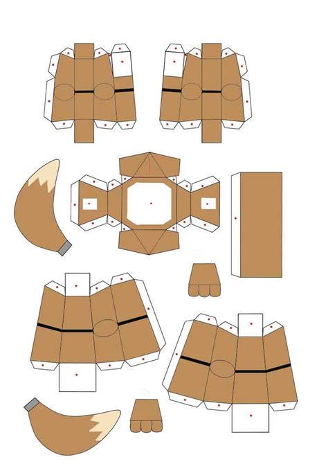 Eevee Papercraft - eevee papercraft part2 by jackobonnie1983 on deviantart