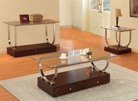 Wood Coffee Table With Glass Top Clear Glass Top Modern Coffee Table W Wood Box Base Drawers