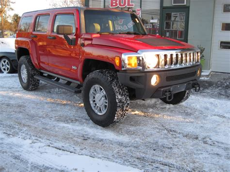 2006 Hummer H3 Rare 6 Speed Manual 4wd Leather Heated
