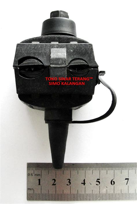 Kabel Listrik ulasan produk tap konektor kabel listrik pln hitam kedap