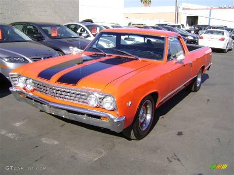 el camino orange 1967 orange chevrolet el camino 1055673 photo 6