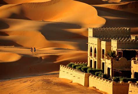 abu dhabi desert resort qasr al sarab desert resort by ggc awarded to qasr al sarab desert resort