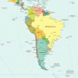 south america political map mapsof net