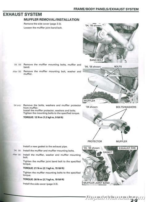 service manuals schematics 2009 honda s2000 free book repair manuals 2004 2009 honda crf250r motorcycle service repair manual