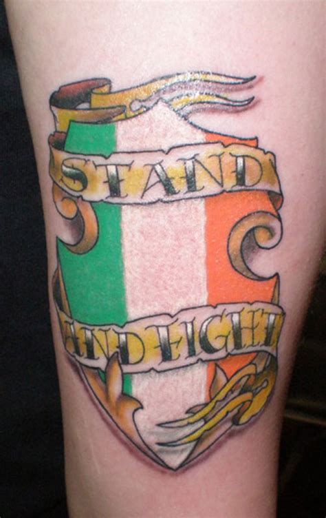 fighting irish tattoos designs 35 glorious tattoos creativefan