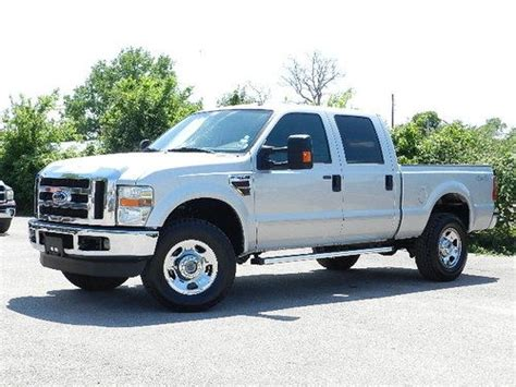 find used 2008 ford f350 4x4 6 4l power stroke diesel crew cab 1 ton short bed ready 2 go in