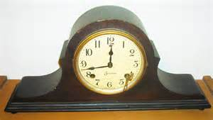 Long Vase Decoration Vintage Sessions Mantle Clock Napoleon Style Parts Clock