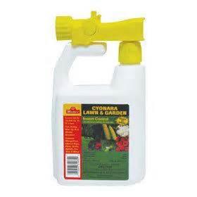 lawn yard mosquito flea tick ant killer spray hose sq ad