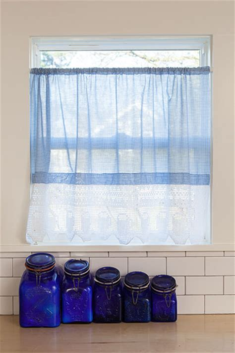 Curtain Shelf by Shelf And Curtain Trim Knitting Patterns And Crochet