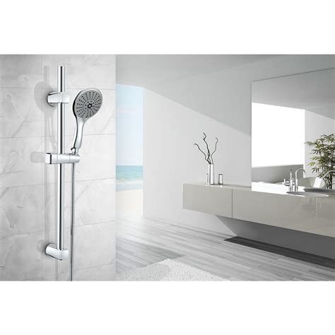 risparmio acqua doccia saliscendi poseidon 5 funzioni con risparmio acqua