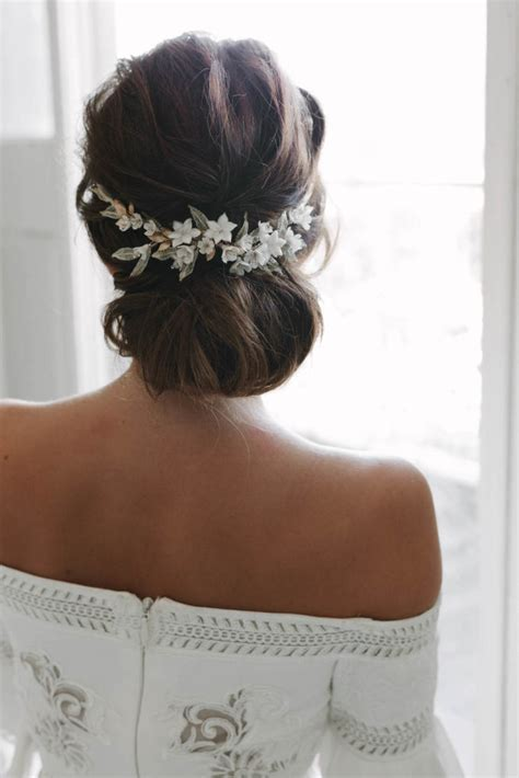 Vintage Wedding Updos With Veil by Chic Chignon How To Style The Modern Chignon Wedding