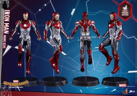 general news toys spider homecoming iron xlvii power pose figure