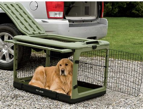 puppy travel crate folding crate collapsible travel crate orvis