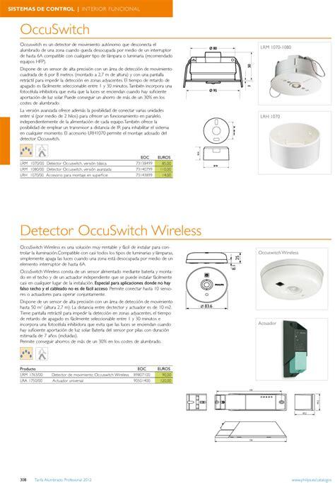Lu Philips Switch philips luminarias occuswitch lrm 1070 00 detector