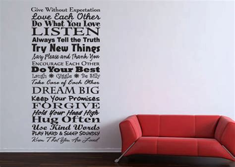 couch words wall art designs word wall art quote vinyl wall word art