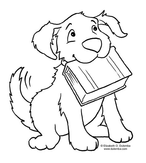 coloring dog coloring pages for kids