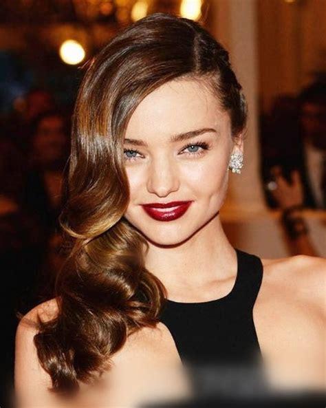 hair longer side peices wavy side hair la coiffure la plus sexy et classe du red