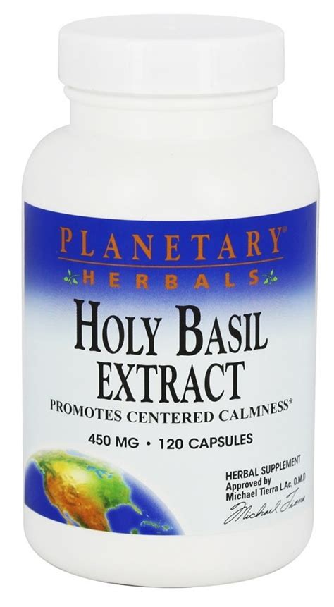 buy planetary herbals holy basil extract 450 mg 120