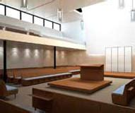 interior layout of a synagogue 3d architectural visualization renderings