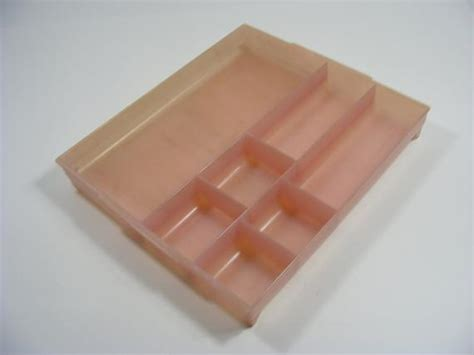 Tray Pink Tupperware by Pink Tupperware Utility Tray Divided Organizer For Your Sewing