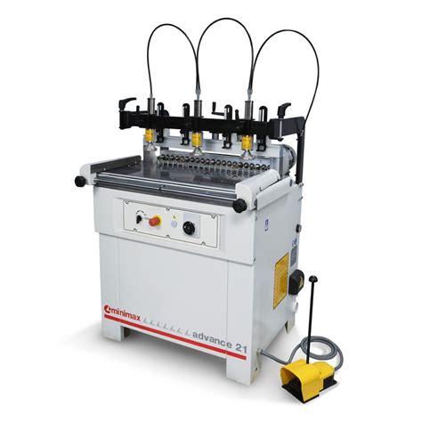 minimax woodworking machines minimax advance 21 single boring machine