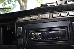 land rover defender radio install