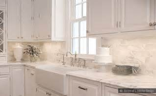 subway tile backsplash ideas for the kitchen subway calacatta gold tile backsplash idea backsplash com