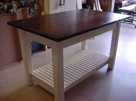 Kitchen Islands Tables | kitchen island table with basket shelf just fine tables