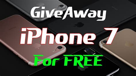 Iphone 7 Giveaway Live - free iphone 7 giveaway live get your iphone 7 plus for free live 1000 iphones