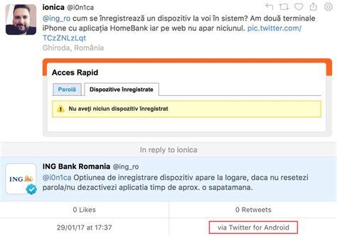 home bank ro android ing homebank isay ro