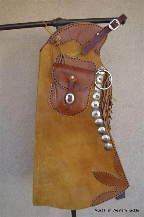 Handmade Cowboy Chaps - punchy handmade gerry gesell western cowboy heavy duty