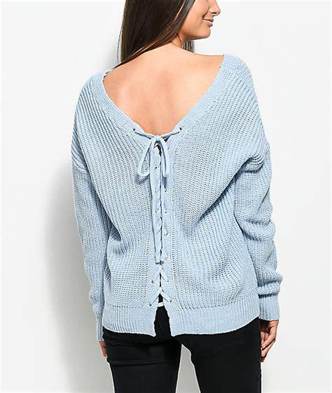 light blue sweater womens baby blue sweater s fashion skirts