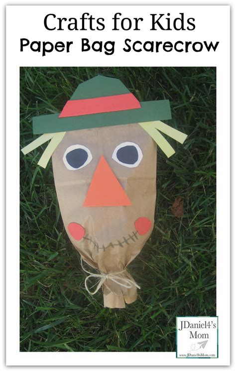 Paper Bag Scarecrow Craft For Preschoolers - scarecrow activities for