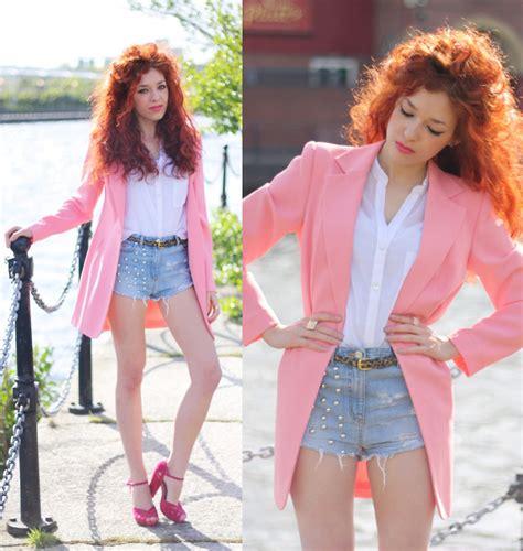 3 Second Jacket Pink aleksandra p second jacket salmon pink lookbook