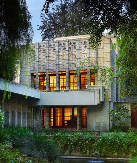 Millard House Design Frank Lloyd Wright S Millard House For Sale