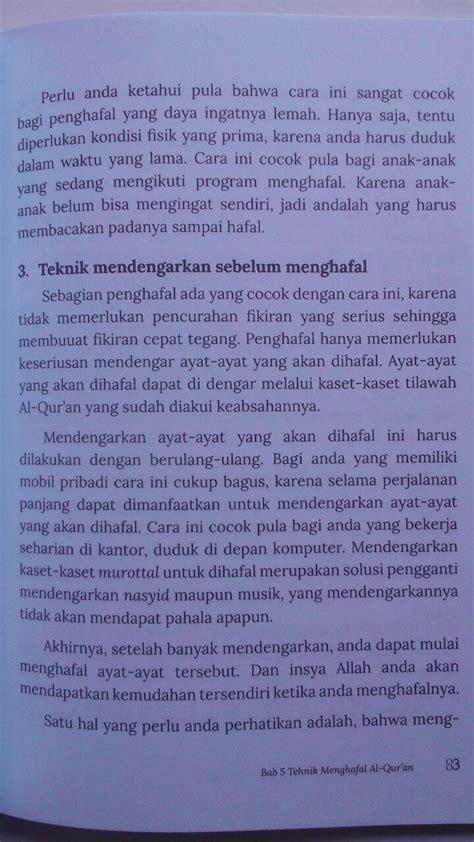 Menjadi Hafizh Tips Dan Motivasi Menghafal Al Quran 1 buku kiat sukses menjadi hafidz al quran da iyah