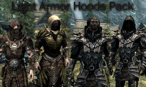 Vs Set Sazkia light armor hoods pack 日本語化対応 鎧 アーマー skyrim mod データベース