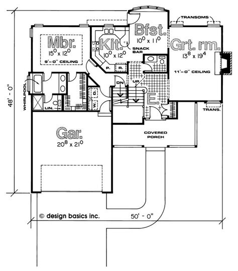 private collection model traditional floor plan house plan 120 1993 4 bedroom 1788 sq ft country