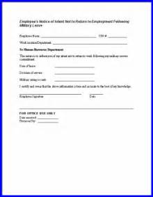 notices to employer