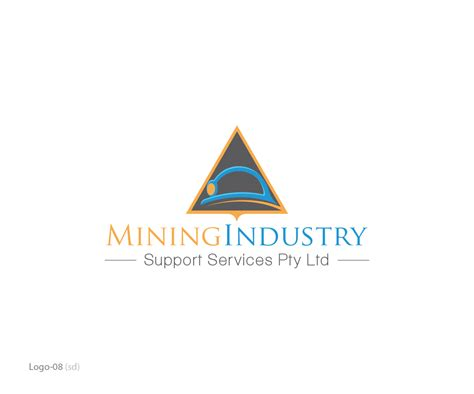 designcrowd pty mining logo design for mining industry support services