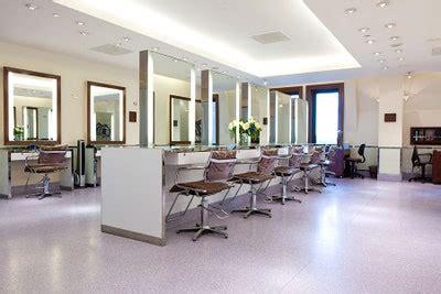 sleek  york city hair salons architectural digest
