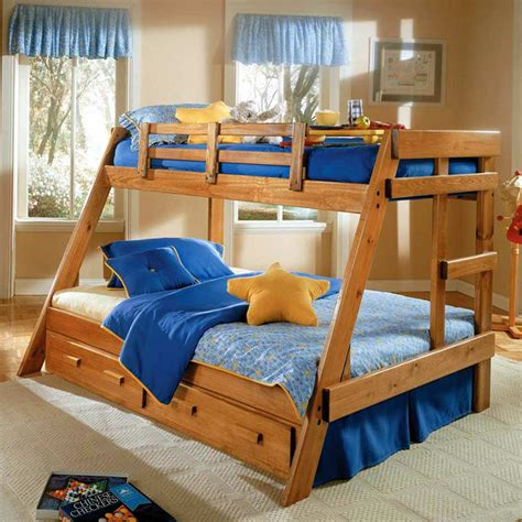 twin loft bed frame twin over full a frame bunk bed under bed storage honey